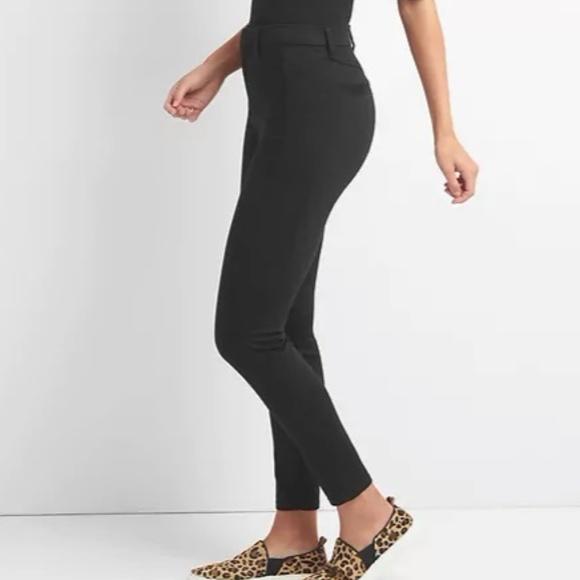 71d11d40dd GAP Pants | High Rise Sculpt Twill Leggings 4 Black V271 | Poshmark
